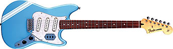 Daphne Blue Fender Cyclone II