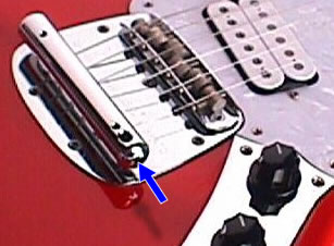 dynamic vibrato tremolo screw