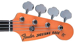 JagStang Bass headstock