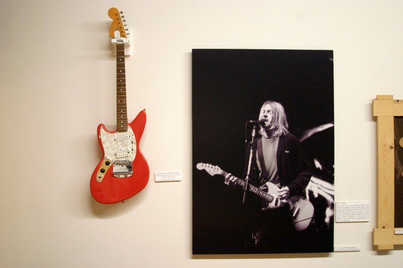 Kurts Red Jag Stang At Fender Museum Jag Stangcom