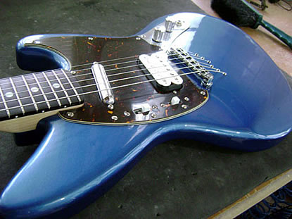 Custom Project JagStang guitar
