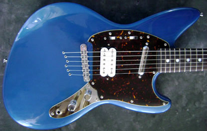 custom jagstang project guitar