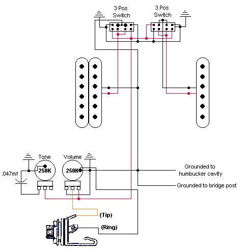 where can i find a jag stang schematic wiring diagram jag stang com rh jag stang com Fat Strat Wiring Diagram Fat Strat Wiring Diagram