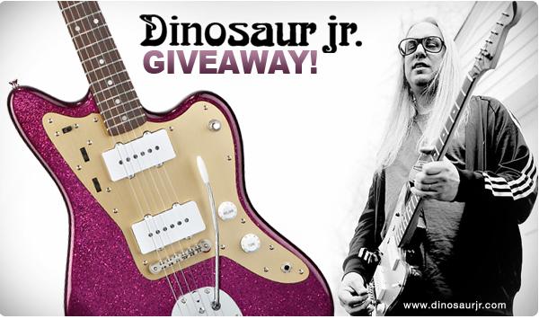 Fender Dinosaur Jr  Giveaway   Jag-Stang com