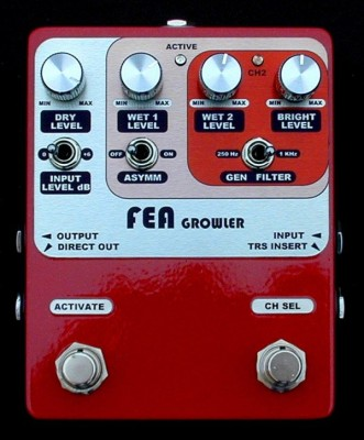 FEA Labs Growler Bass Pedal