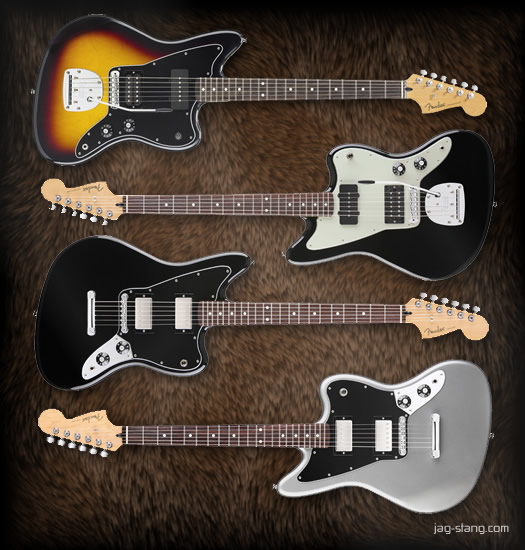 Fender Blacktop Series - Jaguar and Jazzmaster