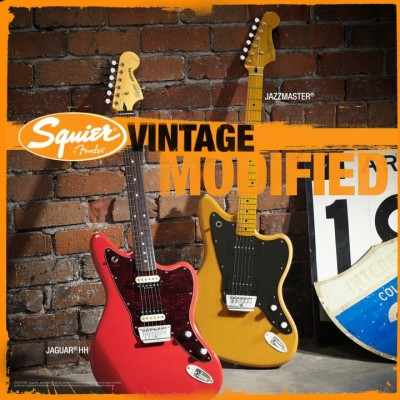 Squier Vintage Jaguar and Jazzmaster