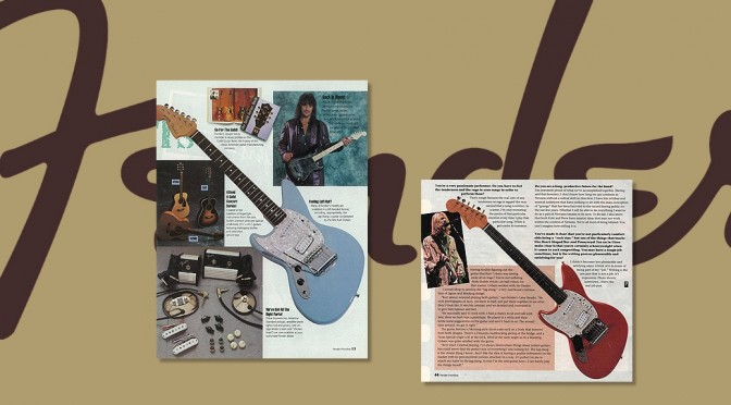 Historical Jag-Stang Article on Fender site