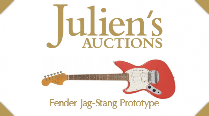 Fiesta Red Fender Jag-Stang Prototype Auction Closed – Winning bid: $93,750