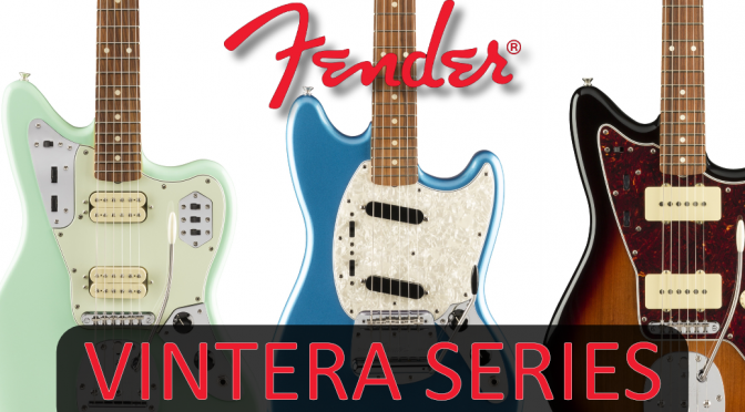 New Fender Vintera Series Guitar Range