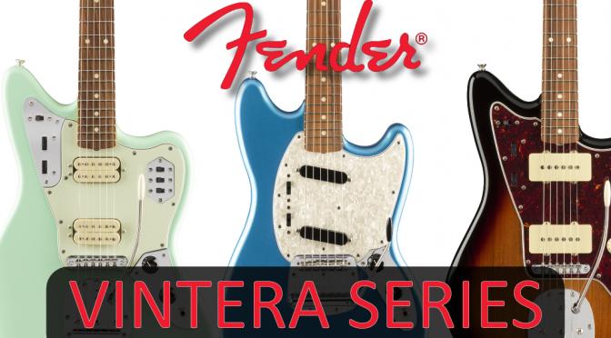 New Fender Vintera Series Guitar Range