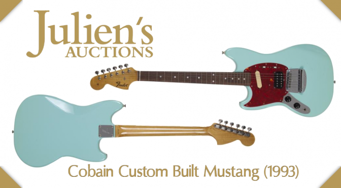 Auction for Kurt Cobain's Custom Fender Mustang (1993) – CLOSED – Winning Bid: $340,000