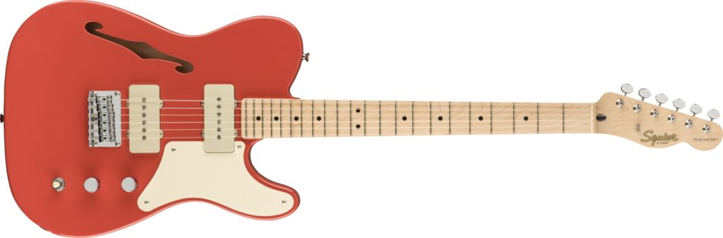 Squier Paranormal Cabronita Telecaster Thinline (Fiesta Red)