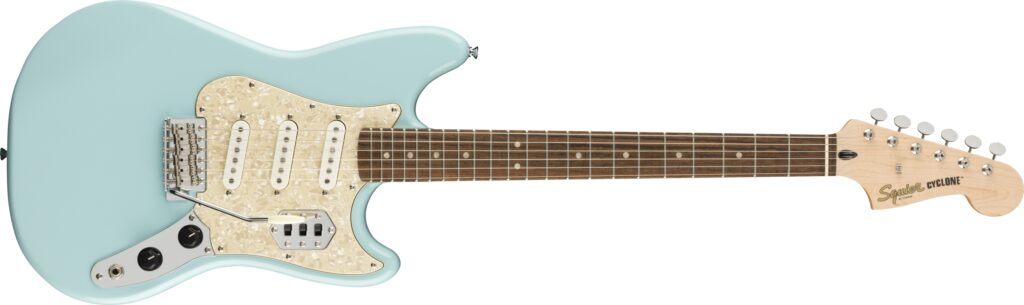 Squier Paranormal Cyclone (Daphne Blue)