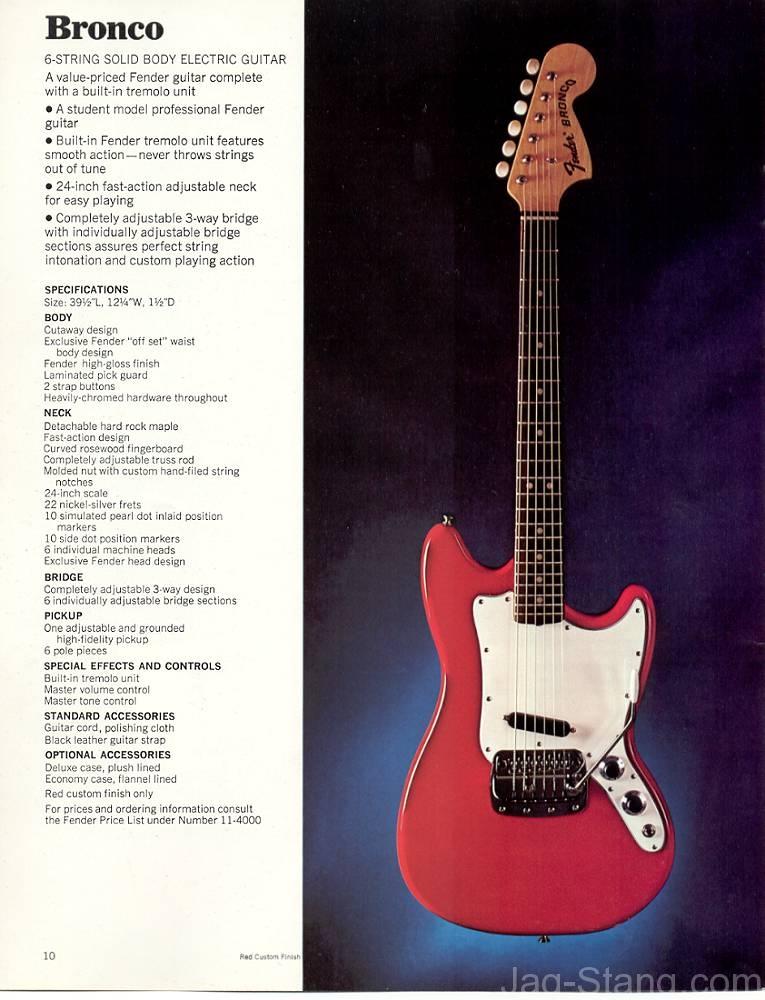Fender Jag-Stang History | Jag-Stang.com on